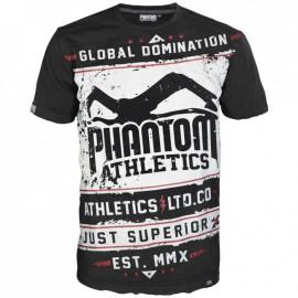 "Pánské tričko Phantom Walkout"" - černo/bílé"