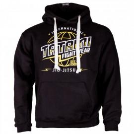 Mikina Tatami Fightwear GLOBAL JIU-JITSU - černá
