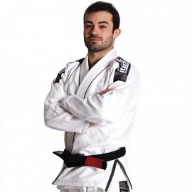 BJJ kimono Gi Tatami fightwear Nova bílé + bílý pás zdarma