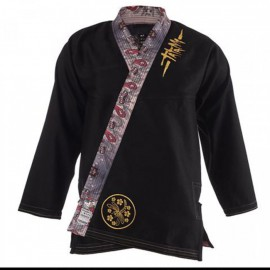 Kimono Tatami MEERKATSU DRAGON FLY GI - černé