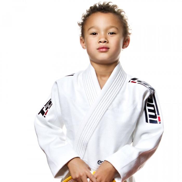 Dětské kimono ESTILO 5.0 PREMIER BJJ GI - Bílé