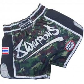 8 WEAPONS Muay Thai trenýrky CAMO