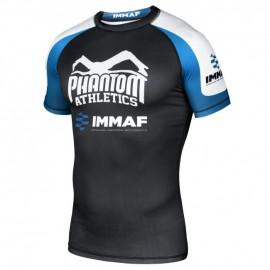 """PHANTOM Rashguard """"IMMAF"""" - černo/modro/bílé"""
