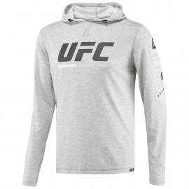 REEBOK Pánská mikina UFC ULTIMATE FAN - šedá