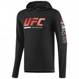 REEBOK Pánská mikina UFC ULTIMATE FAN - černá