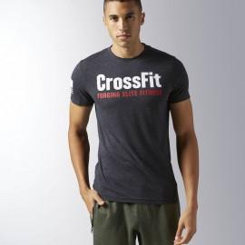 REEBOK Pánské tričko CrossFit FORGING ELITE - černé
