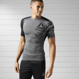 Pánské kompresní tričko Reebok ACTIVCHILL  - šedé