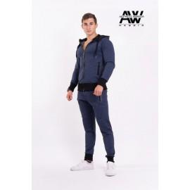 Pánská Bunda AW 109 NEBBIA - modrá