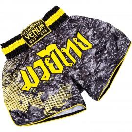 Muay Thai trenýrky VENUM TRAMO - černo/žluté