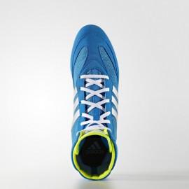 """ADIDAS Boxerské boty  """"Box Hog 2"""" - modro/bílé"""