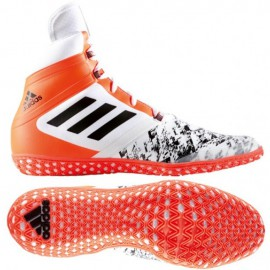 "ADIDAS Wrestling boty ""Flying Impact"" - neonově oranžové"