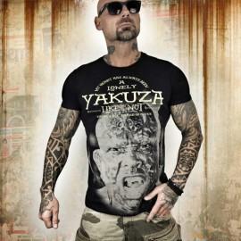 Pánské tričko YAKUZA LONELY HUNTER - černé