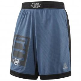 Reebok Pánské Boxerské šortky COMBAT BOXING - modro/černé