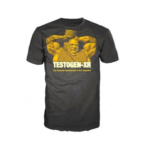 Pánské triko TESTOGEN - černé