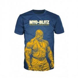 Pánské triko MYO-BLITZ - modré
