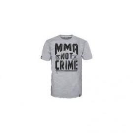 Pánské tričko Phantom MMA IS NOT A CRIME šedé