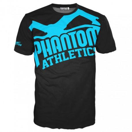 """Pánské tričko Phantom  """"EVO - Supporter 2.0"""" - černo/modré"""