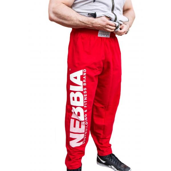 Fitness tepláky Nebbia 310 - červené