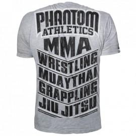 Pánské tričko Phantom MMA SPORTS - šedé