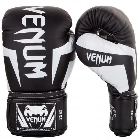 Boxerské rukavice VENUM ELITE - černo/bílé