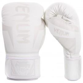 Boxerské rukavice VENUM ELITE - bílé