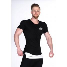 NEBBIA Pánské triko SINGLET AW 123 - černé