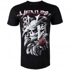 Pánské tričko VENUM SAMURAI SKULL - černé
