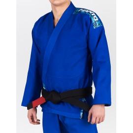 """MANTO Kimono """"CAMO"""" BJJ GI - modré"""