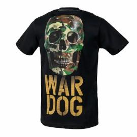 PitBull West Coast Triko WAR DOG - černé