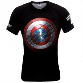 Rashguard POUNDOUT Marvel Captain America