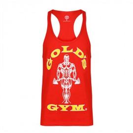 Gold Gym  Pánské tílko STRINGER JOE PREMIUM - červené