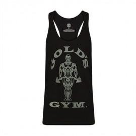 Gold Gym  Pánské tílko STRINGER JOE TONAL - černé