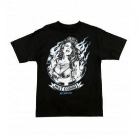 Pánské triko Metal Mulisha MAMA - černé