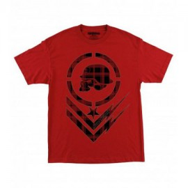 Pánské triko Metal Mulisha IMPACT - červené