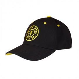 Gold Gym Pánská kšiltovka CURVED - černá