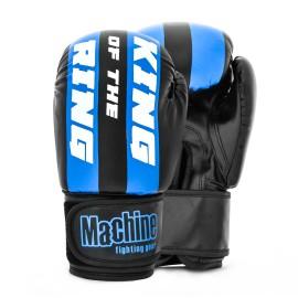 Boxerské rukavice Machine King Of The Ring FAST - černo/modré