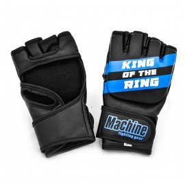 MMA rukavice Machine King Of The Ring - černo/modré