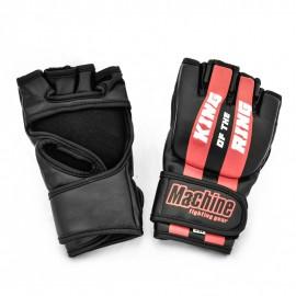 MMA rukavice Machine King Of The Ring - černo/červené
