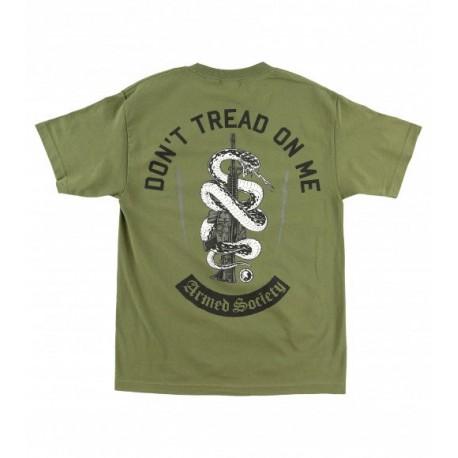 Pánské triko Metal Mulisha D.T.O.M. - zelená