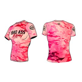 Dámský Rashguard FORMMA BAD ASS ARMY PINK