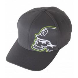 Pánská kšiltovka Metal Mulisha GLOW HAT - černá