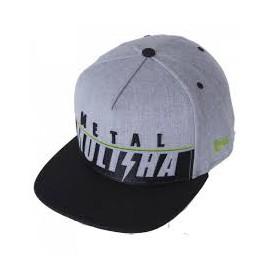 Pánská kšiltovka Metal Mulisha COLLAR HAT - šedá