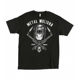 Pánské triko Metal Mulisha TORCHED - černá