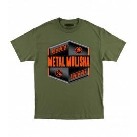 Pánské triko Metal Mulisha EMBLEM - zelená