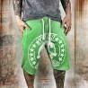 Pánské šortky Yakuza SKULL LABEL SSB 10037 - zelené