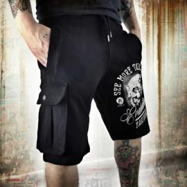 Pánské šortky Yakuza Evaluation SSB 8057 - černé