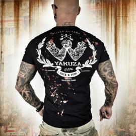 Pánské tričko YAKUZA Killed By Fame TSB 10056 - černé
