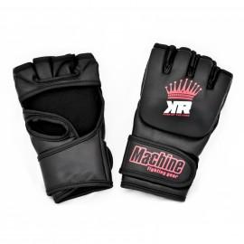 MMA rukavice Machine King Crown - černo/červené
