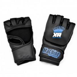 MMA rukavice Machine King Crown - černo/modré