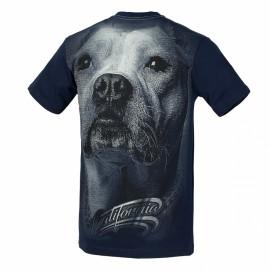 PitBull West Coast Triko CALIFORNIA DOG 17 - tmavě modré